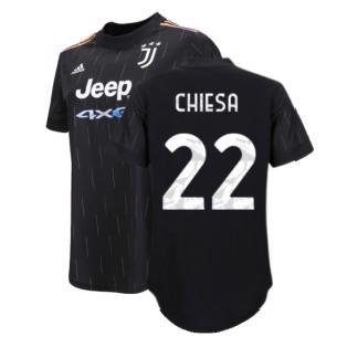 2021-2022 Juventus Away Shirt (Ladies) (CHIESA 22)