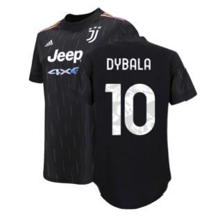 2021-2022 Juventus Away Shirt (Ladies) (DYBALA 10)