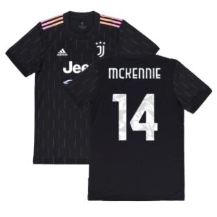 2021-2022 Juventus Away Shirt (McKENNIE 14)