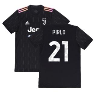 2021-2022 Juventus Away Shirt (PIRLO 21)