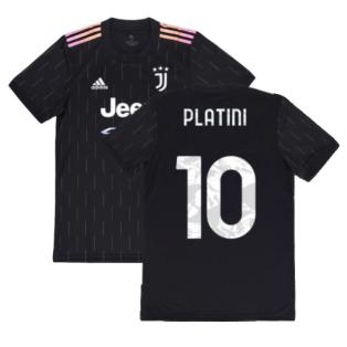 2021-2022 Juventus Away Shirt (PLATINI 10)
