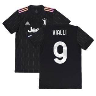 2021-2022 Juventus Away Shirt (VIALLI 9)