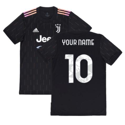2021-2022 Juventus Away Shirt (Your Name)