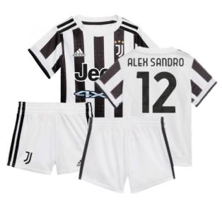 2021-2022 Juventus Home Baby Kit (ALEX SANDRO 12)