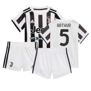 2021-2022 Juventus Home Baby Kit (ARTHUR 5)
