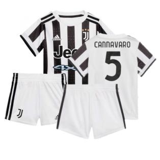 2021-2022 Juventus Home Baby Kit (CANNAVARO 5)