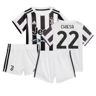 2021-2022 Juventus Home Baby Kit (CHIESA 22)