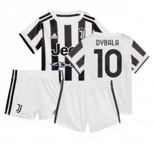 2021-2022 Juventus Home Baby Kit (DYBALA 10)