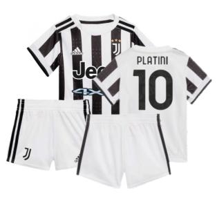 2021-2022 Juventus Home Baby Kit (PLATINI 10)