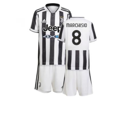 2021-2022 Juventus Home Mini Kit (MARCHISIO 8)