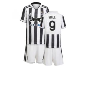 2021-2022 Juventus Home Mini Kit (VIALLI 9)