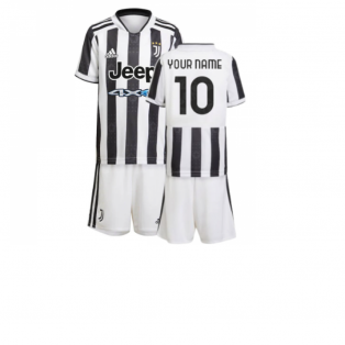 2021-2022 Juventus Home Mini Kit (Your Name)