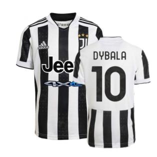 2021-2022 Juventus Home Shirt (DYBALA 10)