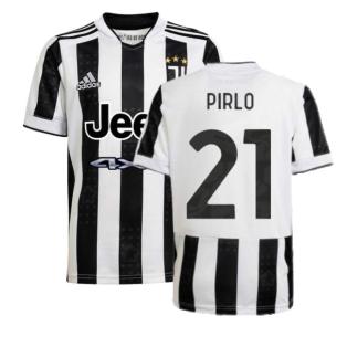 2021-2022 Juventus Home Shirt (Kids) (PIRLO 21)