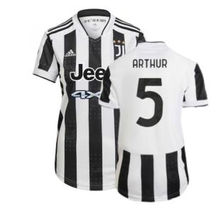 2021-2022 Juventus Home Shirt (Ladies) (ARTHUR 5)