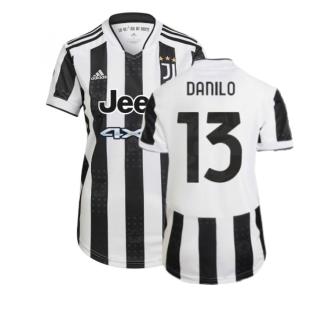 2021-2022 Juventus Home Shirt (Ladies) (DANILO 13)