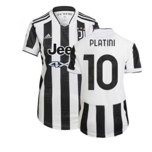 2021-2022 Juventus Home Shirt (Ladies) (PLATINI 10)