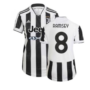 2021-2022 Juventus Home Shirt (Ladies) (RAMSEY 8)