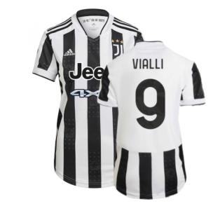 2021-2022 Juventus Home Shirt (Ladies) (VIALLI 9)