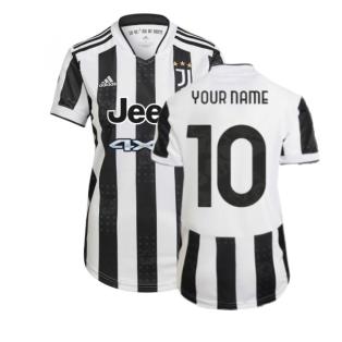 2021-2022 Juventus Home Shirt (Ladies) (Your Name)