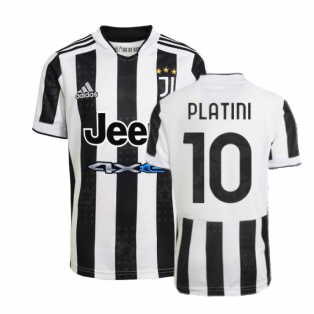 2021-2022 Juventus Home Shirt (PLATINI 10)