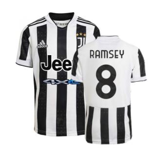 2021-2022 Juventus Home Shirt (RAMSEY 8)