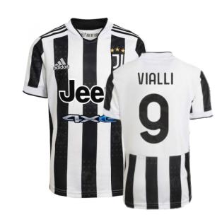 2021-2022 Juventus Home Shirt (VIALLI 9)