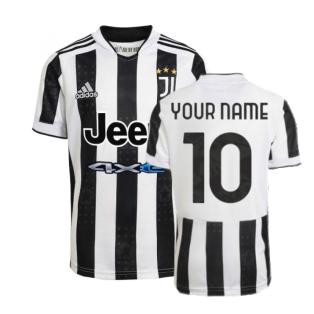 2021-2022 Juventus Home Shirt (Your Name)