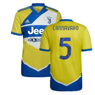 2021-2022 Juventus Third Shirt (CANNAVARO 5)