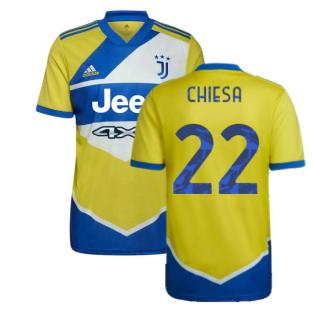 2021-2022 Juventus Third Shirt (CHIESA 22)