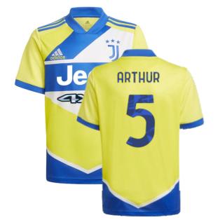 2021-2022 Juventus Third Shirt (Kids) (ARTHUR 5)