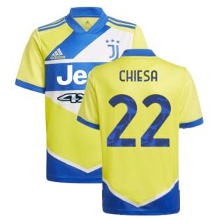 2021-2022 Juventus Third Shirt (Kids) (CHIESA 22)