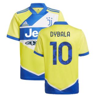 2021-2022 Juventus Third Shirt (Kids) (DYBALA 10)