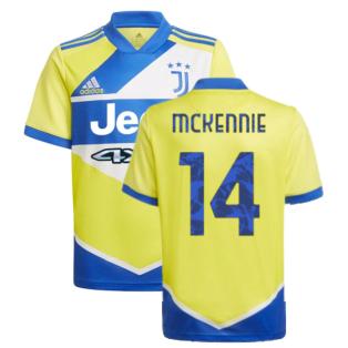 2021-2022 Juventus Third Shirt (Kids) (McKENNIE 14)