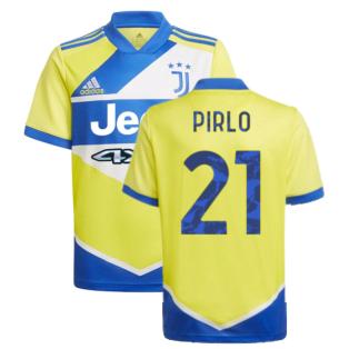 2021-2022 Juventus Third Shirt (Kids) (PIRLO 21)