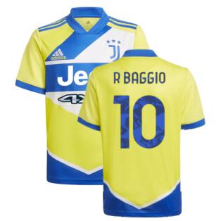 2021-2022 Juventus Third Shirt (Kids) (R BAGGIO 10)