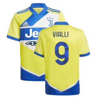 2021-2022 Juventus Third Shirt (Kids) (VIALLI 9)