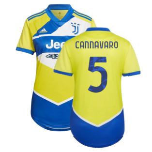 2021-2022 Juventus Third Shirt (Ladies) (CANNAVARO 5)