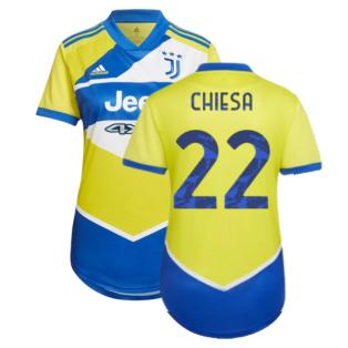2021-2022 Juventus Third Shirt (Ladies) (CHIESA 22)