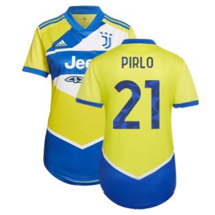 2021-2022 Juventus Third Shirt (Ladies) (PIRLO 21)