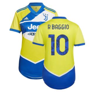 2021-2022 Juventus Third Shirt (Ladies) (R BAGGIO 10)