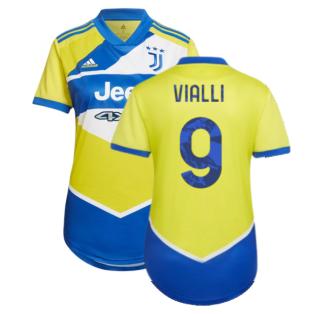 2021-2022 Juventus Third Shirt (Ladies) (VIALLI 9)
