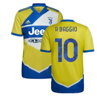 2021-2022 Juventus Third Shirt (R BAGGIO 10)