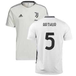 2021-2022 Juventus Training Shirt (White) (ARTHUR 5)
