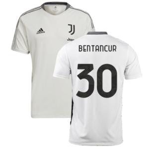 2021-2022 Juventus Training Shirt (White) (BENTANCUR 30)
