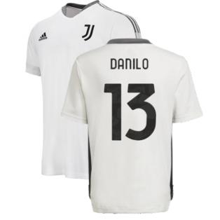 2021-2022 Juventus Training Shirt (White) - Kids (DANILO 13)