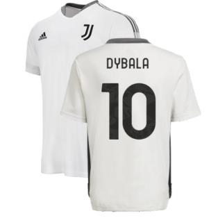 2021-2022 Juventus Training Shirt (White) - Kids (DYBALA 10)