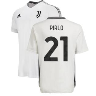 2021-2022 Juventus Training Shirt (White) - Kids (PIRLO 21)