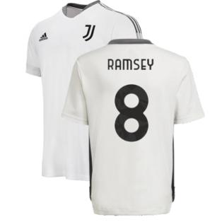 2021-2022 Juventus Training Shirt (White) - Kids (RAMSEY 8)
