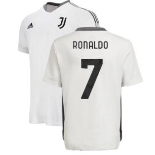 2021-2022 Juventus Training Shirt (White) - Kids (RONALDO 7)